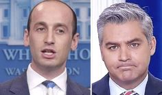 Bitter Acosta whines Miller was 'berating' reporters at briefing. Wait, you were acting as a reporter, Jim?