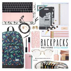 """Back to School Backpacks"" by ashley-rebecca ❤ liked on Polyvore featuring Christian Dior, Casetify, Nicole Miller, Moleskine, Henri Bendel, Aurélie Bidermann, Converse, Bobbi Brown Cosmetics, Miss Selfridge and Essie"
