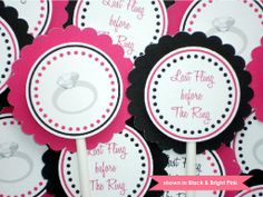 Diamond Engagement Rings For Cupcake Toppers Decorations 13