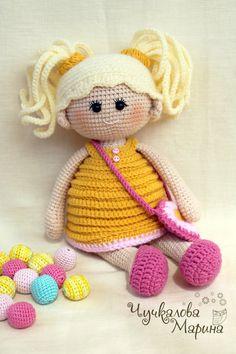 Pumposhka doll PDF crochet doll pattern von MyCroWonders auf Etsy