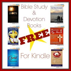 FREE Bible Study and Devotion Books for Kindle