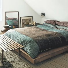 Image Of A Japanese Futon Bed. | Interior Design | Pinterest | Japanese  Futon Bed, Japanese Futon And Japanese