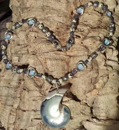 Opolite, Aqua Aura & Zebra Jasper Crystal Healing, Jasper, Aqua, Necklaces, Crystals, Jewelry, Fashion, Moda, Water