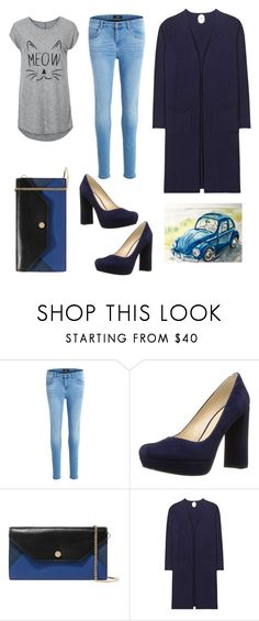 """""""For planning"""" by pollyguacamole on Polyvore featuring Object Collectors Item, Nine West, Maje and Jardin des Orangers"""