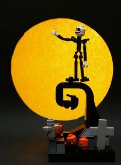 lego jack skellington (nightmare before christmas) Lego Film, Lego Movie, Jack Skellington, Nightmare Before Christmas, Lego Projects, Projects To Try, Mega Pokemon, Lego Worlds, Lego Design