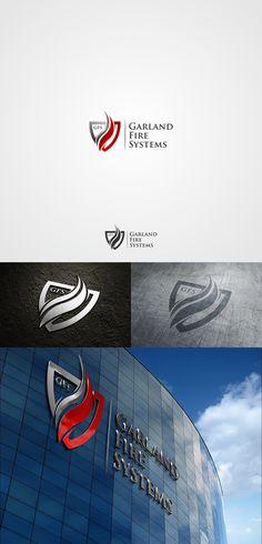 Logo Design for Garland Fire Systems (GFS) by pentool29 http://jrstudioweb.com/diseno-grafico/diseno-de-logotipos/