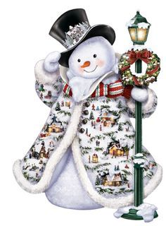 Christmas pipes / snowmen