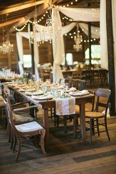 Elegant Vinewood Wedding - reception style
