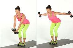 exercice avec haltere femme