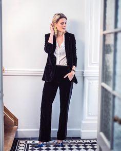 velvet suit 🎉 from @SofieValkiers's closet
