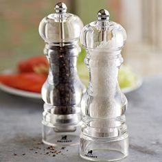 Peugeot Nancy Acrylic Salt & Pepper Mills | Williams-Sonoma