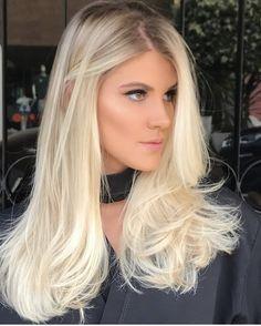 Hair goals ombre highlights 30 Ideas for 2019 Blonde Hair Looks, Brown Blonde Hair, Blonde Balayage, Trendy Hairstyles, Blonde Hairstyles, Hair Goals, New Hair, Hair Inspiration, Hair Makeup