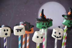 Halloween marshmallow monsters / chamallows fantomes halloween