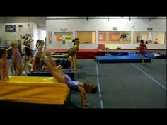 Best Cast Handstand Drill- Bay City Gymnastics Drills. This has been really effective across different classes