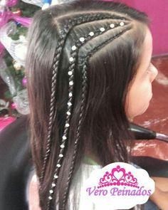 Teen Hairstyles, Little Girl Hairstyles, Hairstyles For School, Braided Hairstyles, Long Hair Designs, Gymnastics Hair, Natural Hair Styles, Long Hair Styles, Love Hair