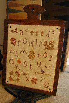Falling Leaves Sampler by Threadwork Primitives