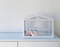 Acrylic Wishing Well - Ikea Greenhouse Wedding Gift Card Box, Gift Card Boxes, Wedding Boxes, Wedding Signs, Wedding Cards, Our Wedding, Wedding Ideas, Greenhouse Wedding, Greenhouse Plans