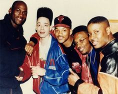 There is so much awesome in this picture. (Michael Jordan, The Fresh Prince, DJ Jazzy Jeff and Kid n' Play)