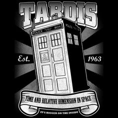 TeeHappy-Intricate TARDIS