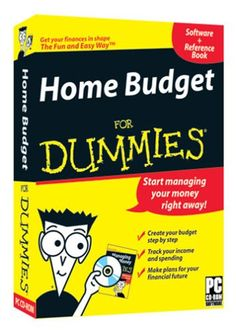 http://pfpins.com/home-budget-for-dummies-old-version/ Get your finances in shape and start managingyour money the right away!  The interactive software for effectively managing your budget.With Home Budget for Dummies, you can organize and manage your accountsstress free! It is as easy as ...