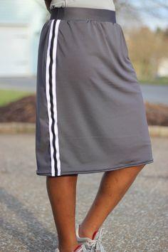 Modest Knee Length Athletic Skort