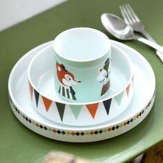Mit dem niedlichen Kids Becher von Ferm Living kommt farbenfrohes Kids-Design auf den Tisch.