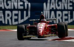 Gerhard Berger (AUT) (Scuderia Ferrari), Ferrari 412T2 - Ferrari 044/1 3.0 V12 (RET)  1995 Italian Grand Prix, Autodromo Nazionale Monza