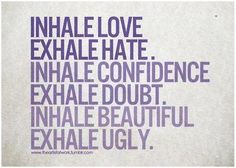 Hot Yoga ♥ Breathe deep!