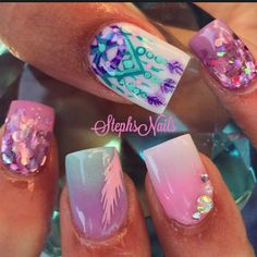 Nail art design ideas | nail art for summer | for short nails