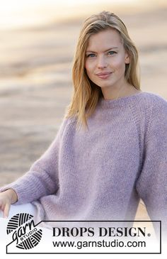 Thanks for all your votes and comments, now it's time to find out if your favourites made it! Easy Sweater Knitting Patterns, Knitting Designs, Knit Patterns, Drops Design, Summer Knitting, Free Knitting, Drops Kid Silk, Paris Model, Magazine Drops