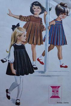 1960s | McCalls Jumper Pattern. Idea