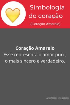 Coração Amarelo Feng Shui, Tarot, Natural, Trivia Of The Day, Meaning Of Colors, Book Of Shadows, Interesting Facts, Witch Craft, Random Things