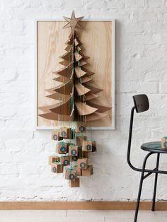 """#Adventskalender """"Päckchenbaum"""" #weihnachten #diy"""