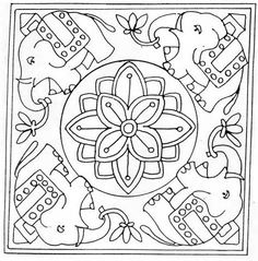 Easy Fleece Dog Coat Pattern additionally Farm Animal Quilt in addition Minecraft Knitting besides Mandalas together with Circles Flower. on knitting patterns for free