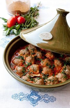 My favorite, kefta tajine! This tajine pot is also nice.