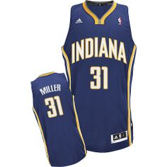 Reggie Miller jersey-Buy 100% official Adidas Reggie Miller Men s Swingman  Navy Blue Jersey. Indiana Pacers ... 523ee12f0
