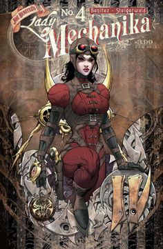 Lady Mechanika #4 (Joe Benitez)