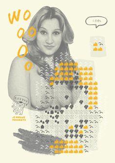 Poster design by Geoffrey van Dijk / je nieuwe favoriete  http://www.jenieuwefavoriete.nl