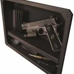 Great website for home firearm concealment. because i am def pro gun and def will have several guns in my house. Weapon Storage, Gun Storage, Hidden Storage, Survival Prepping, Emergency Preparedness, Survival Gear, Secret Hiding Places, Hiding Spots, Home Defense