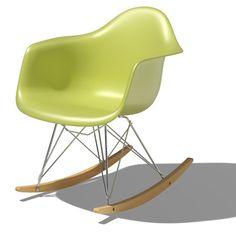 Herman Miller Eames Molded Plastic Rocking Chair