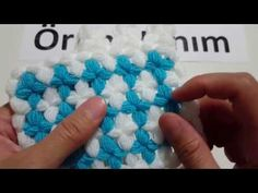 This Pin was discovered by Eme Arm Knitting, Baby Knitting Patterns, Crochet Patterns, Hobbies And Crafts, Diy And Crafts, Crochet Videos, Crochet Stitches, Crochet Flowers, Crochet Baby