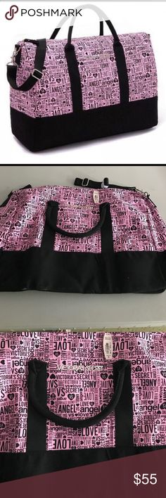 Victoria's Secret tote Beautiful vs tote very spacious brand new with tags the design is so pretty Victoria's Secret Bags Totes