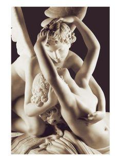 Ravishment of Psyche by Antonio Canova