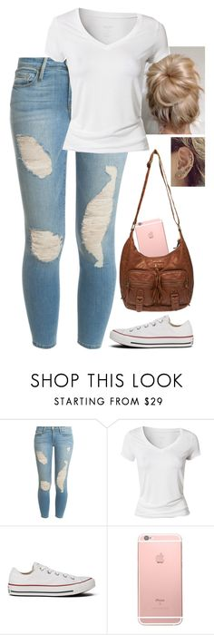 """""""Untitled #301"""" by incomparableme ❤ liked on Polyvore featuring Frame, Calvin Klein, Converse and Wet Seal"""