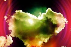 Heart Cloud Art Print by Taryn Bordeaux
