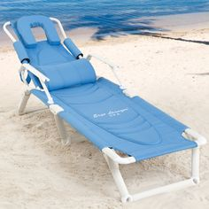 Ergo Lounger Spa   The Ultimate Lounger Folding Beach Lounge Chair