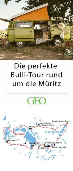 Auf unserer Bulli-Tour durch Mecklenburg-Vorpommern reiht sich See an See – ein Muss für alle Kanu- und Paddelfreunde. Lust, eine Runde um die Müritz zu drehen?
