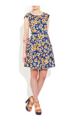 Louche Julita Floral Dress