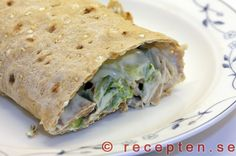 Kalkonwraps 5 2 Diet, Lunch, Ethnic Recipes, Food, Salt, Eat Lunch, Essen, Salts, Meals
