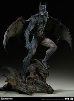 Pre-order Sideshow Dc Comics Gotham City Nightmare Batman Statue Fantasy
